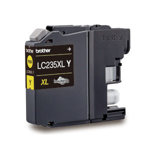 Brother LC-235XLY Yellow Ink Cartridge (Yield, up to 1,200 pages)
