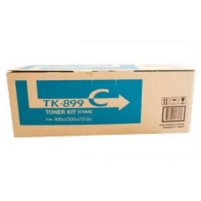 Kyocera TK-899C Cyan Toner Kit (6,000 pages)