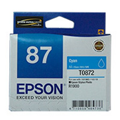 Epson C13T087290 Cyan Ink Cartridge