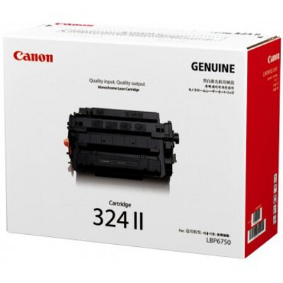 Canon CART324II Toner Cartridge to suit LBP6750DN (Yield, 12,500 pages)