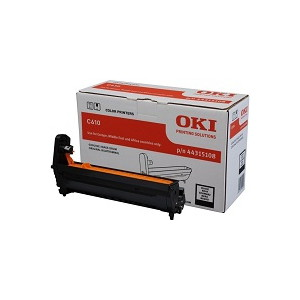 OKI 44315112 EP Cartridge (Drum) For C610 Black (20,000 Pages)