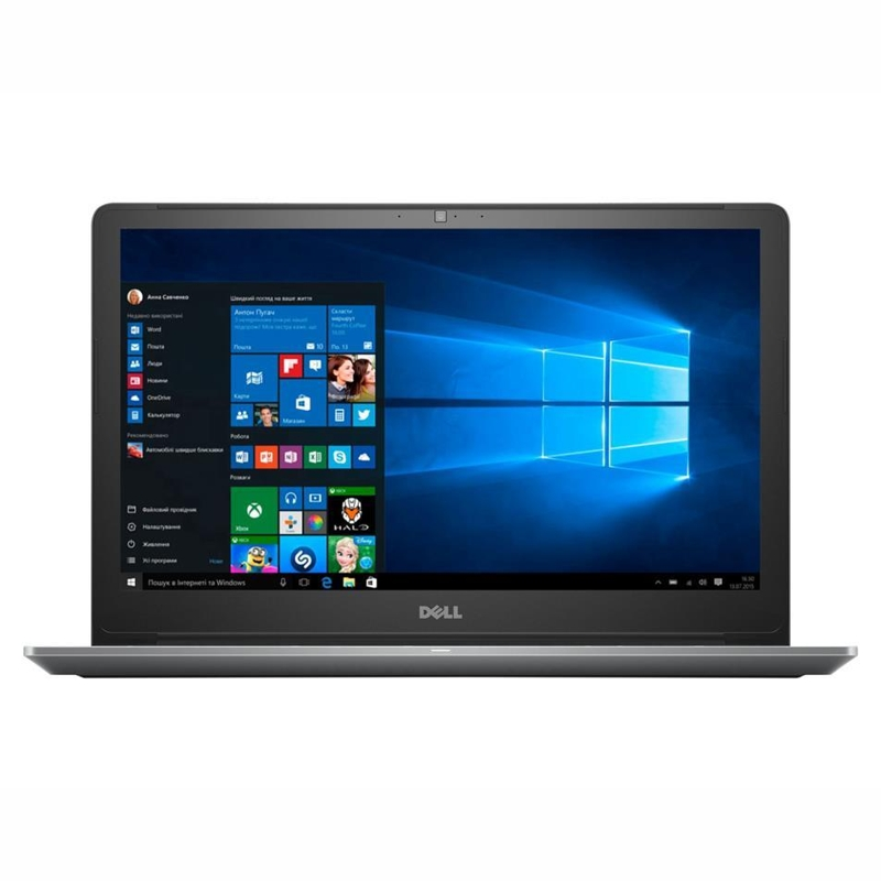 Dell Vostro 5568, Core i5-7200U 2.5/3.1Ghz, 8GB, 256GB SSD, 15.6 Inch FHD, No Optical, Win 10 Pro 64