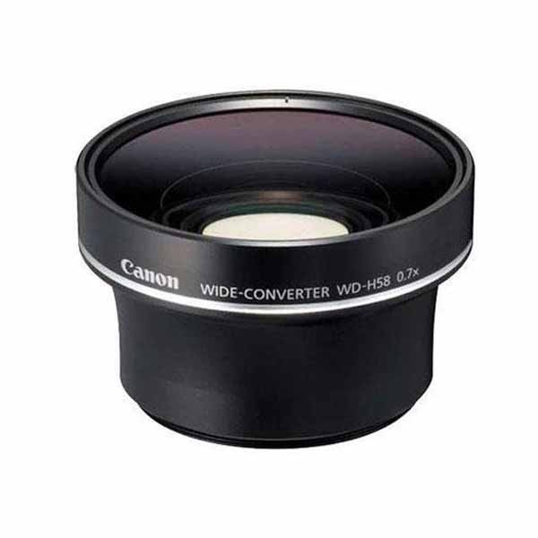 Canon WDH58 Wide Converter Lens to suit HFS10, HFS100