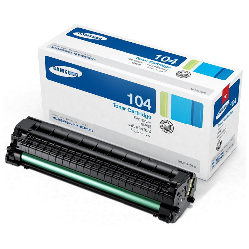 Samsung MLT-D104S Black Toner/Drum for ML-1660 (1,500 Pages)