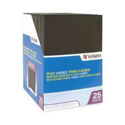 Verbatim 94837 DVD Video Trim Case - 25 Pack