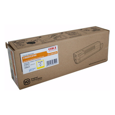 OKI TCOC5650YELLOW Toner Cartridge to suit 5650/5750 Printers