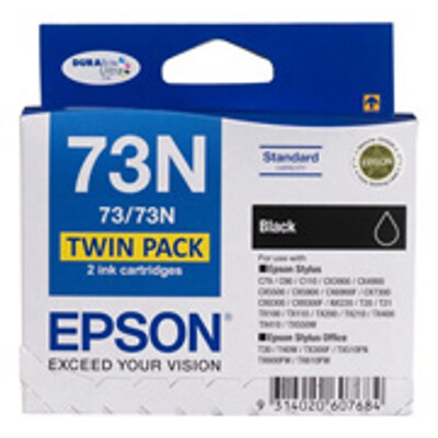 Epson C13T105194 Black ink cartridge TWIN PACK