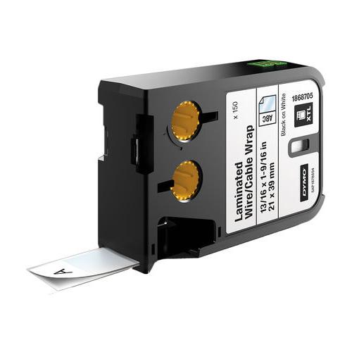 DYMO XTL 21x102mm Black/White SL Tape