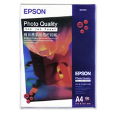 Epson Photo Quality Paper (A4) 100 Sheets per Pack (C13S041786/C13S041061)