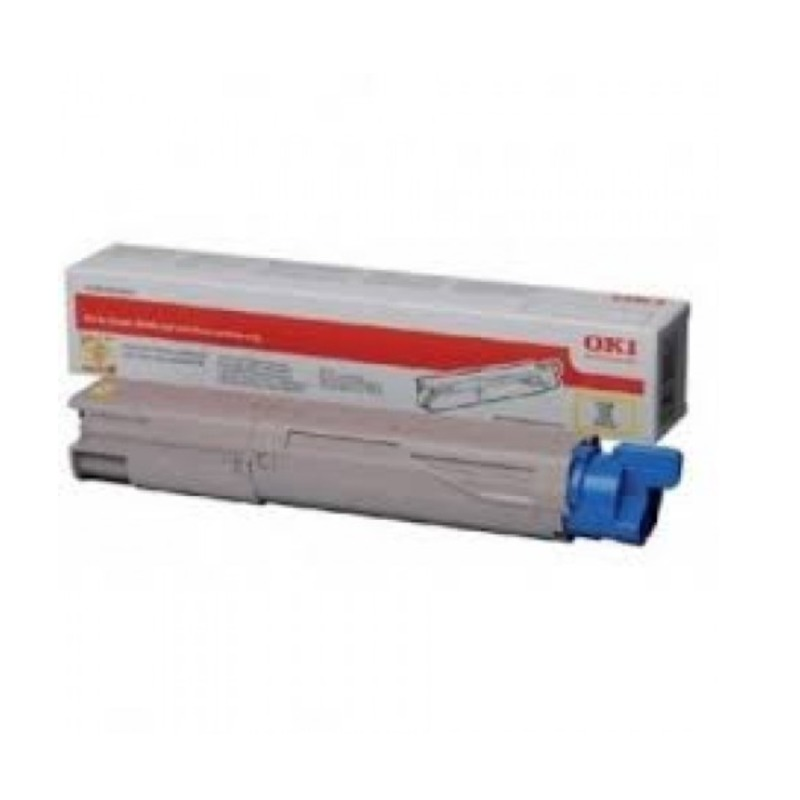 OKI 45862844 Toner Cartridge For MC853 Black; (7000 Pages @ ISO)