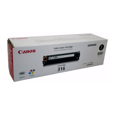 CART316BK Black cartridge for LBP5050N