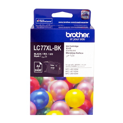 Brother LC-77XLBK Super High Yield Black Ink Cartridge