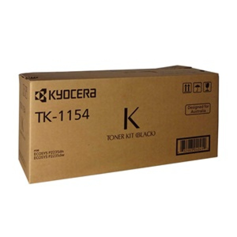 Kyocera TK-1154, Toner Kit to suit P2235DN/DW (3,000 Yield)