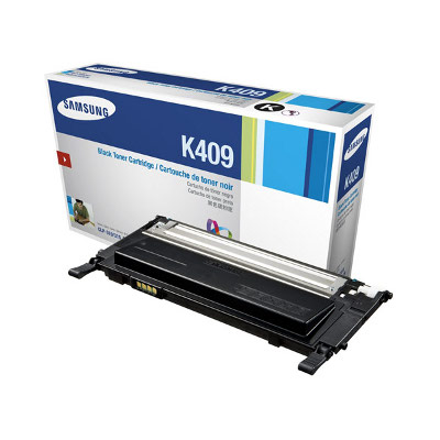 Samsung CLT-K409S Black Toner for CLP-310/315; CLX-3170/3175 (1500 Yield)