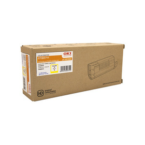 OKI 44318609 Yellow Toner Cartridge for C710/C711n (11,500 Yield @ 5% Coverage)