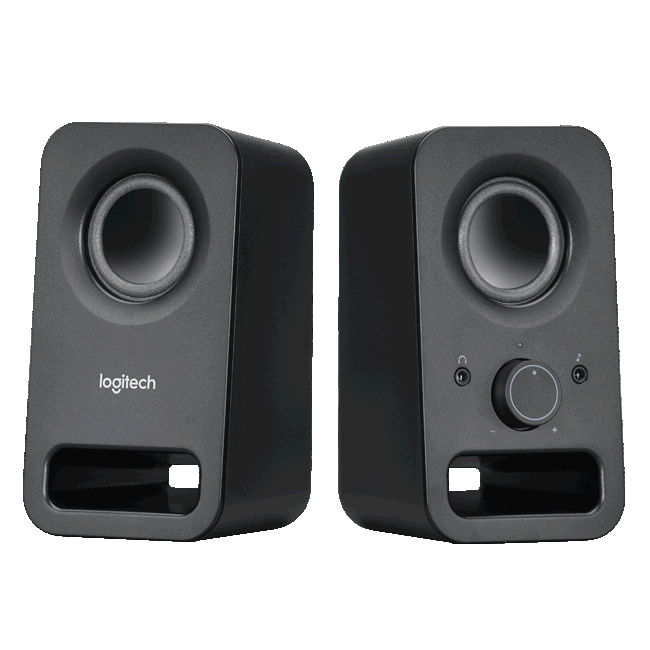Logitech 980-000862 Z150 Multimedia Speakers, Midnight Black