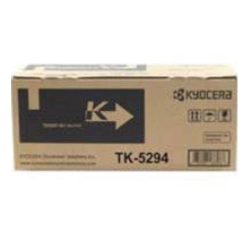 Kyocera TK-5294K Black Toner Cartridge (17,000 Pages)