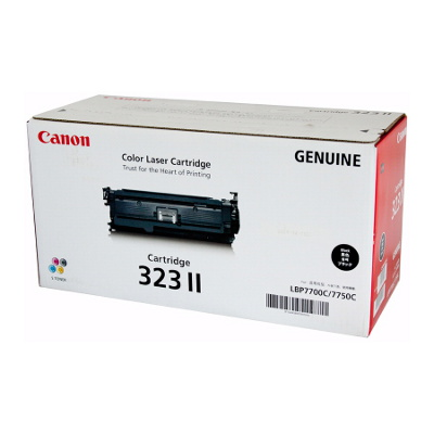 Canon CART323BKII High Capacity Black Cartridge to suit LBP7750CDN