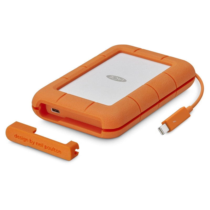 LaCie STFS4000800 4000GB Rugged Thunderbolt / USB-C Portable Drive
