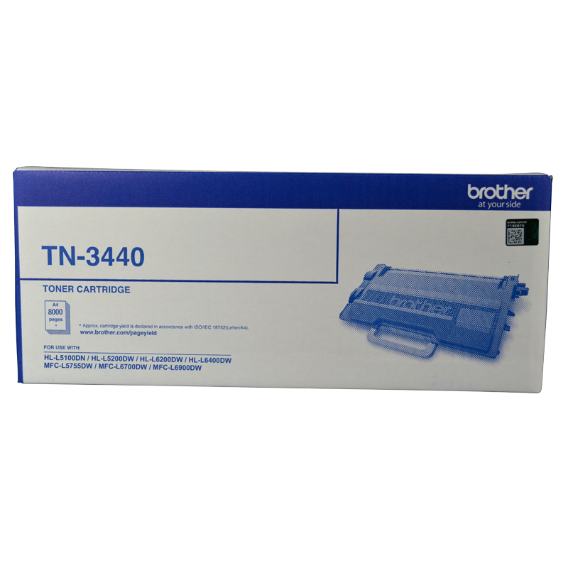Brother TN-3440 Toner Cartridge, 8,000 Yield
