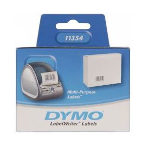 DYMO (SD11354/S0722540) Multi-purpose, Paper/White 57mm x 32mm, 1 Roll/Box, 1000 Labels/Roll