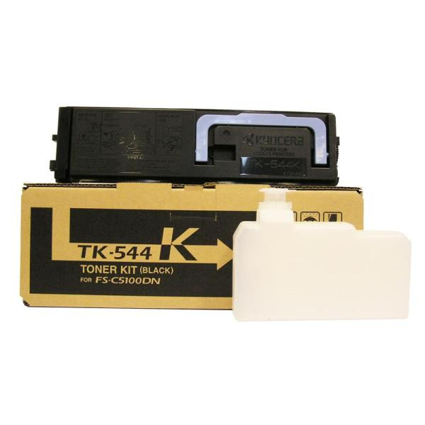 Kyocera TK-544K Black Toner Kit for FS-C5100DN (5,000 Yield)