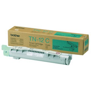 Brother TN-12C Cyan Toner Cartridge to suit HL-4200CN (6000 Yield)