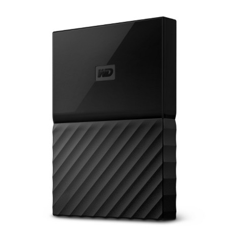 Western Digital My Passport 4TB External USB 3.0 Portable HDD - Black