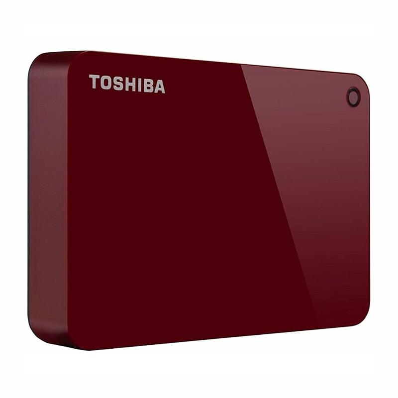 Toshiba HDTC940AR3CA 4TB Canvio Portable USB 3.0 Hard Drive, Red