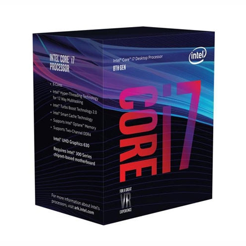 Intel BX80684I78700 6 Core i7-8700 3.2Ghz Processor, LGA1151