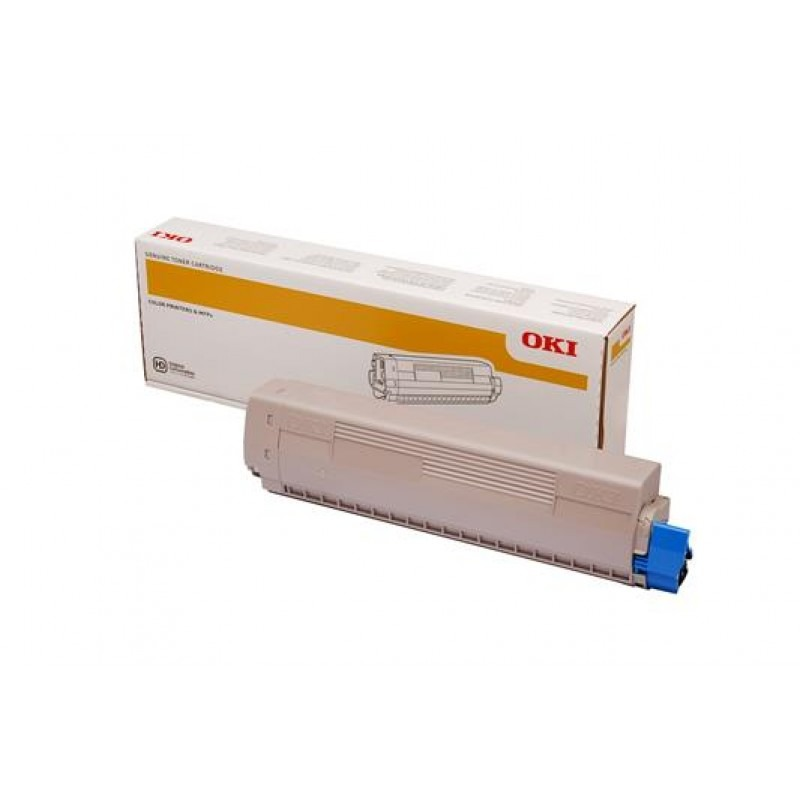 OKI 45862829 Toner Cartridge For MC873 Magenta; (10,000 Pages @ ISO)