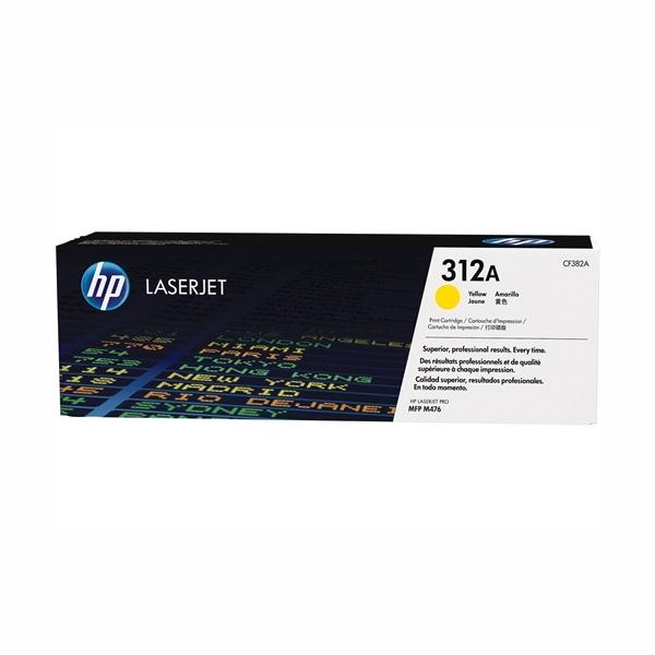 HP CF382A #312A Yellow Toner Cartridge (2,700 Yield)