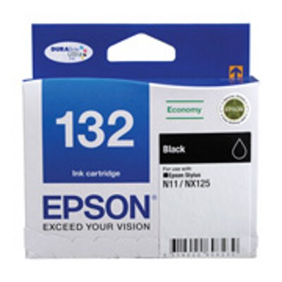 Epson C13T132192 Economy Black ink cartridge to suit STYLUS N11, NX125