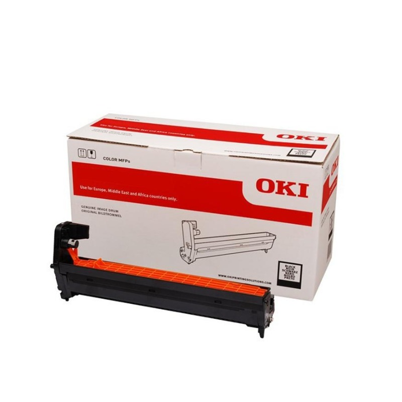 OKI 46484112 Black Image Drum For C532dn/MC573dn; 30,000 Pages @ 3 page per job