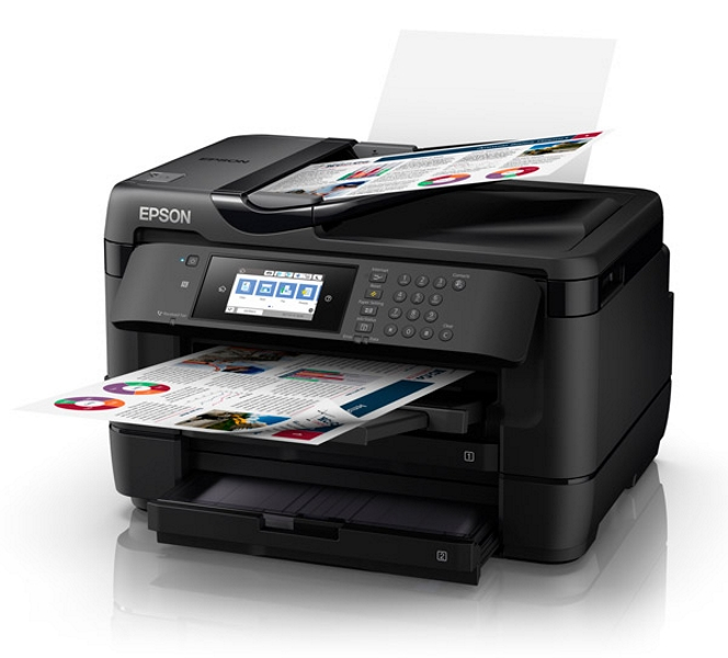 Epson WorkForce 7725 A3+ Inkjet Multifunction with PrecisionCore - Print, Copy, Scan and Fax