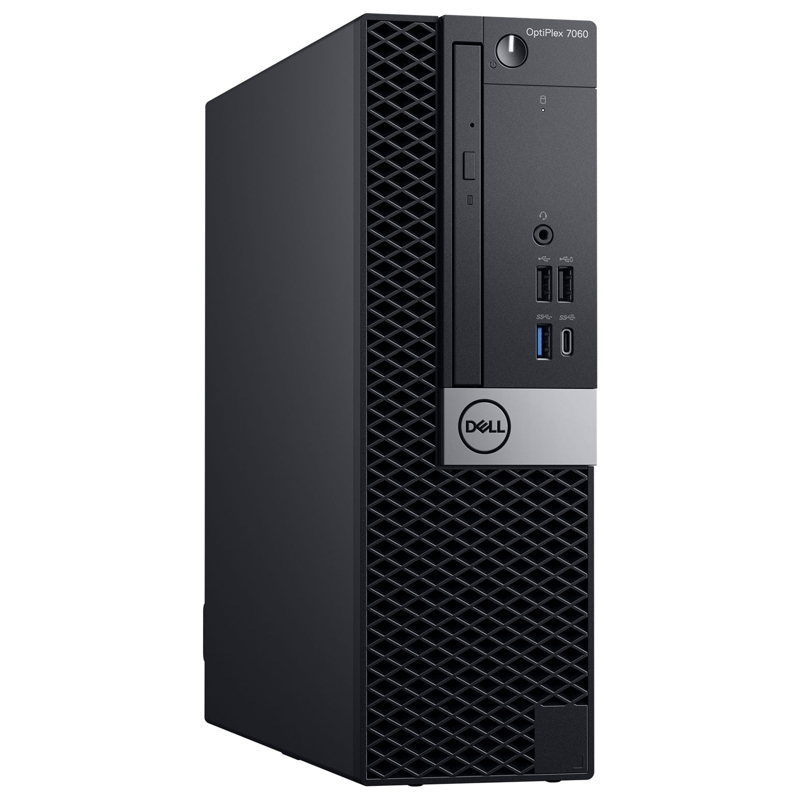 Dell Optiplex 7060 SFF, Core i5-8500 3.0/4.1Ghz, 8GB, 256GB SSD, DVDRW, Win 10 Pro 64, 3 Year