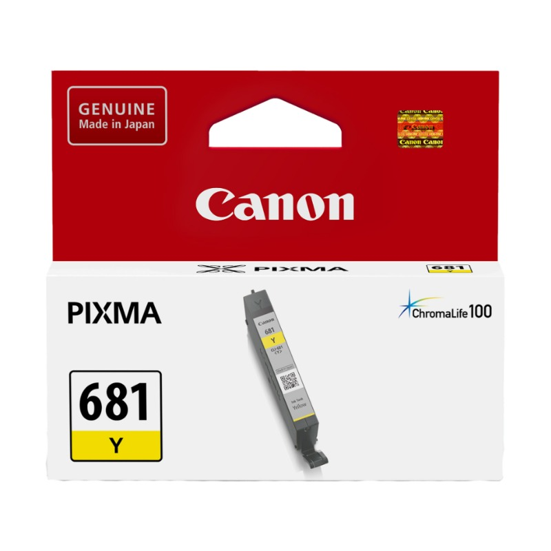 Canon CLI681Y Yellow Ink Catridge