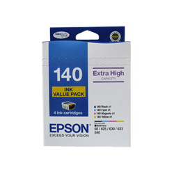 Epson C13T140692 4 Extra High Capacity ink cartridge VALUE PACK