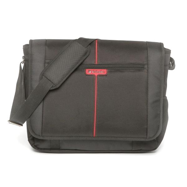 Verbatim 49856 Berlin Messenger Bag for 16 Inch Notebook