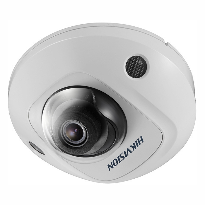 Hikvision DS-2CD2555FIWS2 6MP Outdoor Mini Dome Camera, H.265+, 10m IR, WDR, WiFi, IP67, IK8, 2.8mm