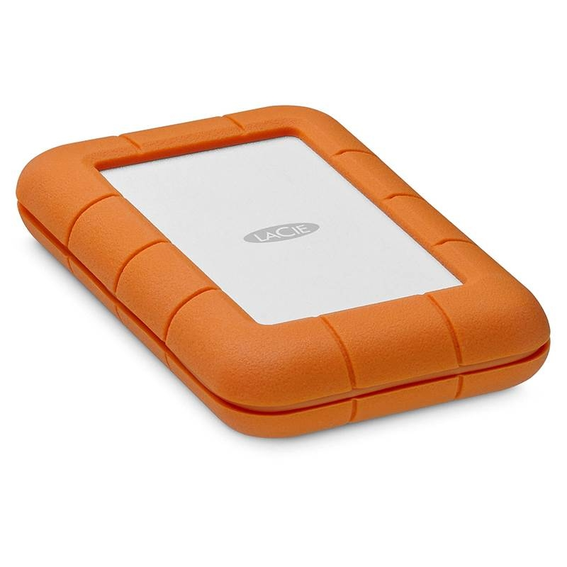 LaCie STFR1000800 1TB Rugged USB-C Portable Drive