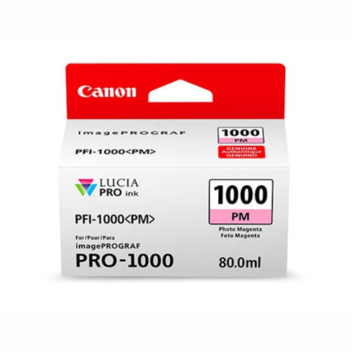 Canon PFI1000PM Photo Magenta Ink Tank (Yield, up to 374 pages)