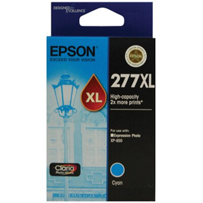 Epson C13T278292 High Capacity Claria Photo HD Cyan ink (Yields up to 740 pages)