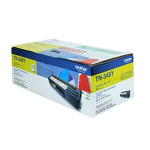 Brother TN-348Y Yellow Toner Cartridge (6,000 Yield @ 5%)