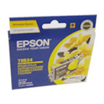 Epson C13T063490 Yellow Ink Cartridge