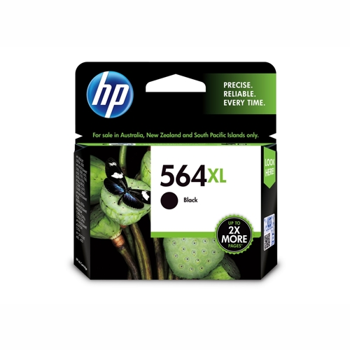 HP CN684WA #564XL High Yield Black Ink Catridge (550 page yield) - replaces CB321WA