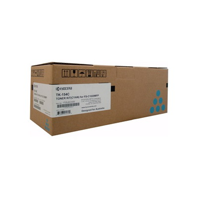 Kyocera Cyan Toner Kit to suit FS-C1020MFP (6,500 page Yield)