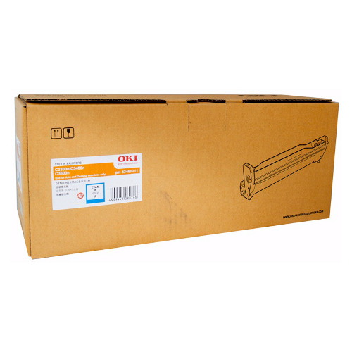 OKI Cyan Drum Unit to suit 33/3400 Printers