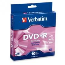 Verbatim DataLifePlus DVD+R 4.7GB Spindle 10 Pack 16x