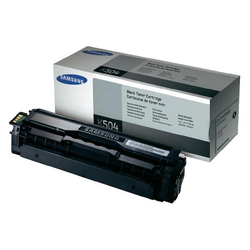 Samsung CLT-K504S Black Toner for CLP-415, CLX-4195 (Average 2,500 pages @ ISO/IEC 19798)